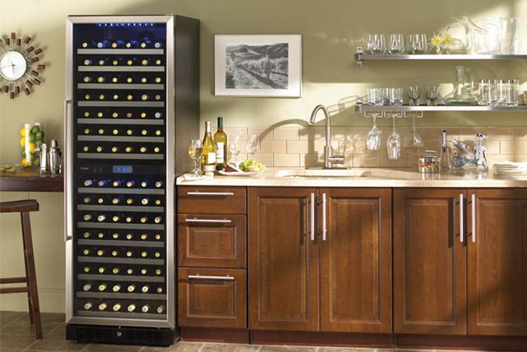 AFICIONADO 18 BOTTLE WINE COOLER REFRIGERATOR HVT18DF88 | eBay