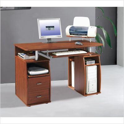 Wood Computer Furniture on Techni Mobili Atua Wood Computer Workstation From Mercantila Com