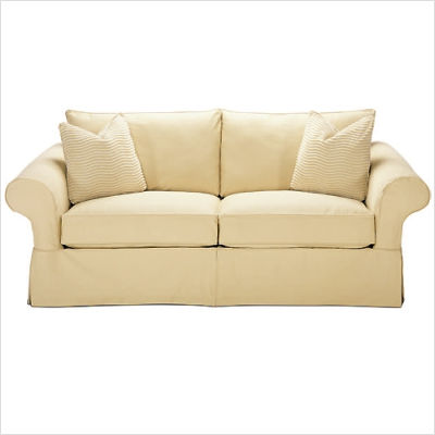 Rowe Furniture Rowe Basics Masquerade Slipcovered Sectional Sofa Environment Furniture