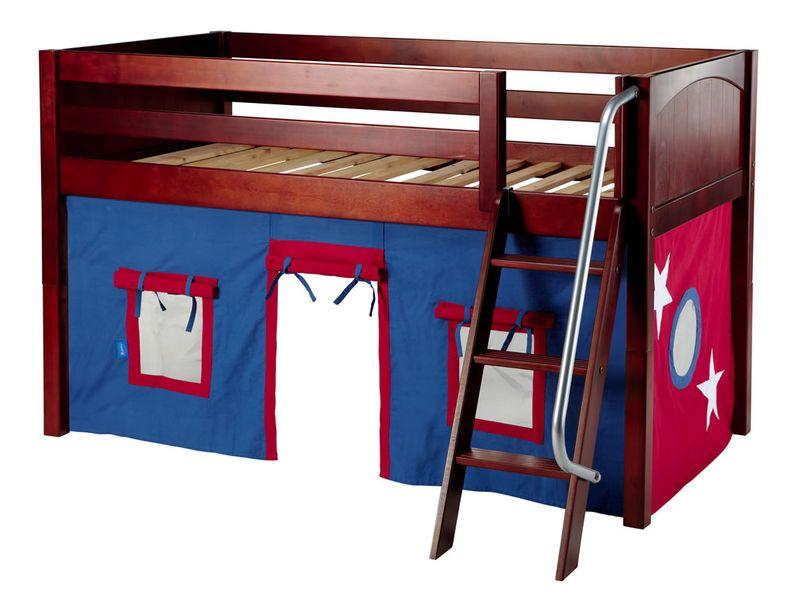 Maxtrix full size high loft bed w angle ladder loft bed 2 0jpg bed