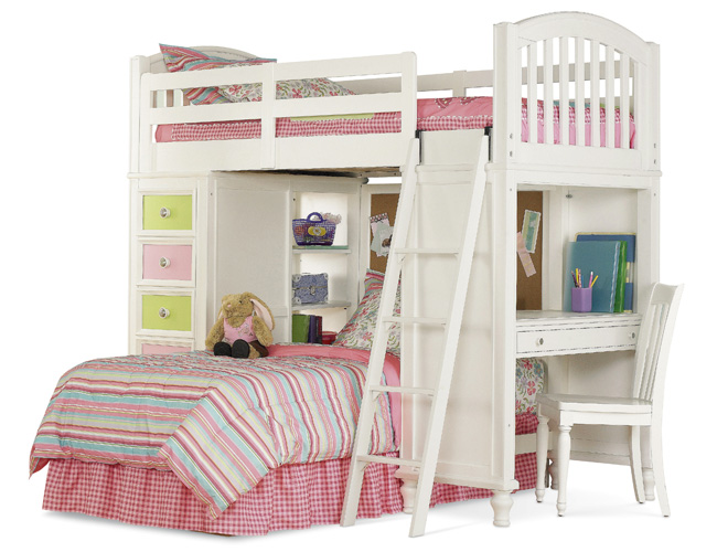 bunk beds on Pawsitively Yours Twin Loft Bed From The Loft Bed Superstore