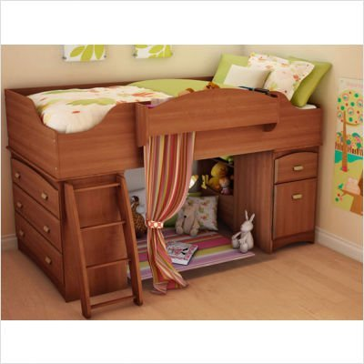 Size Twin  on Shore Imagine Twin Size Low Loft Bed From The Loft Bed Superstore