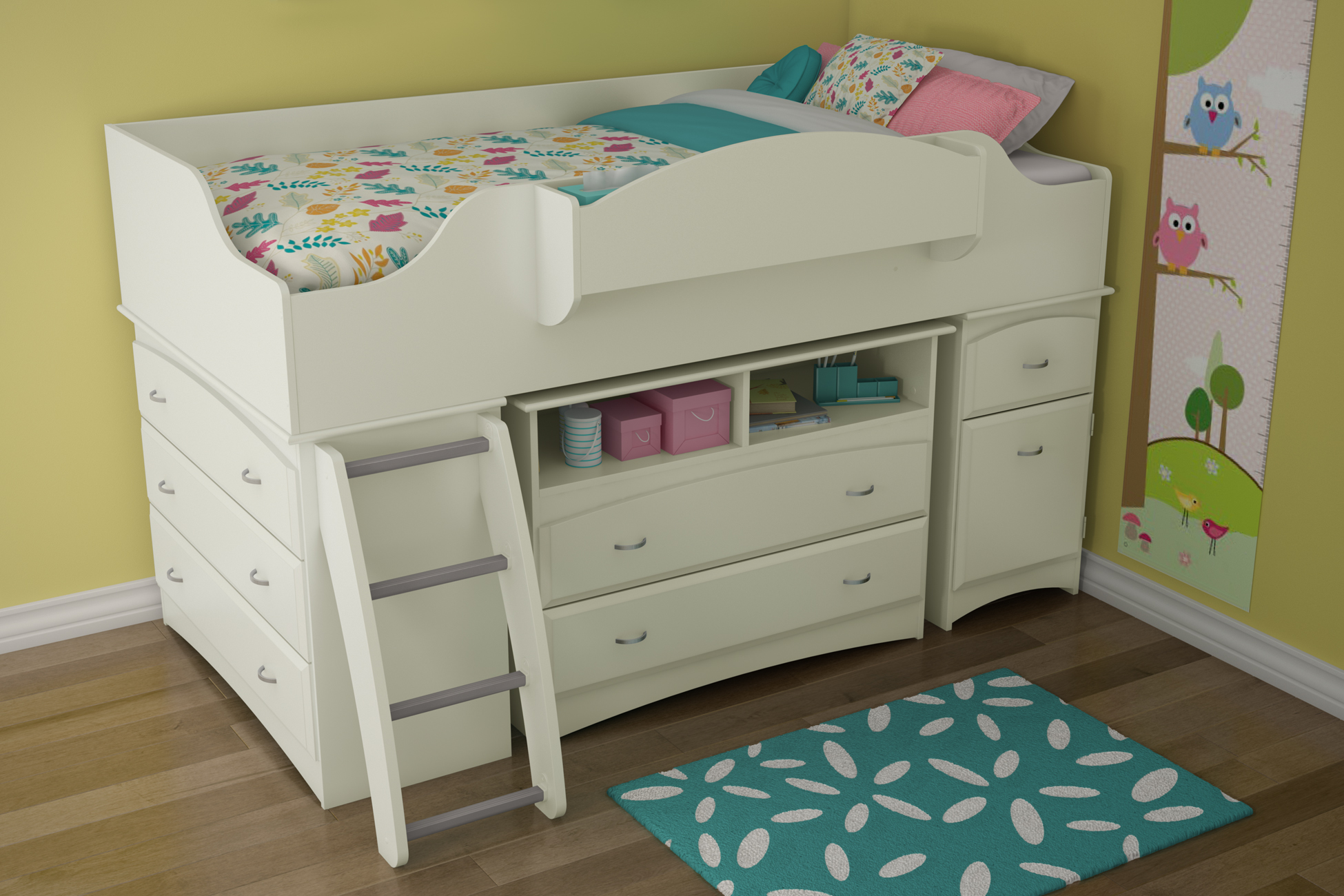 South Shore Imagine Loft Bed 1950 x 1300