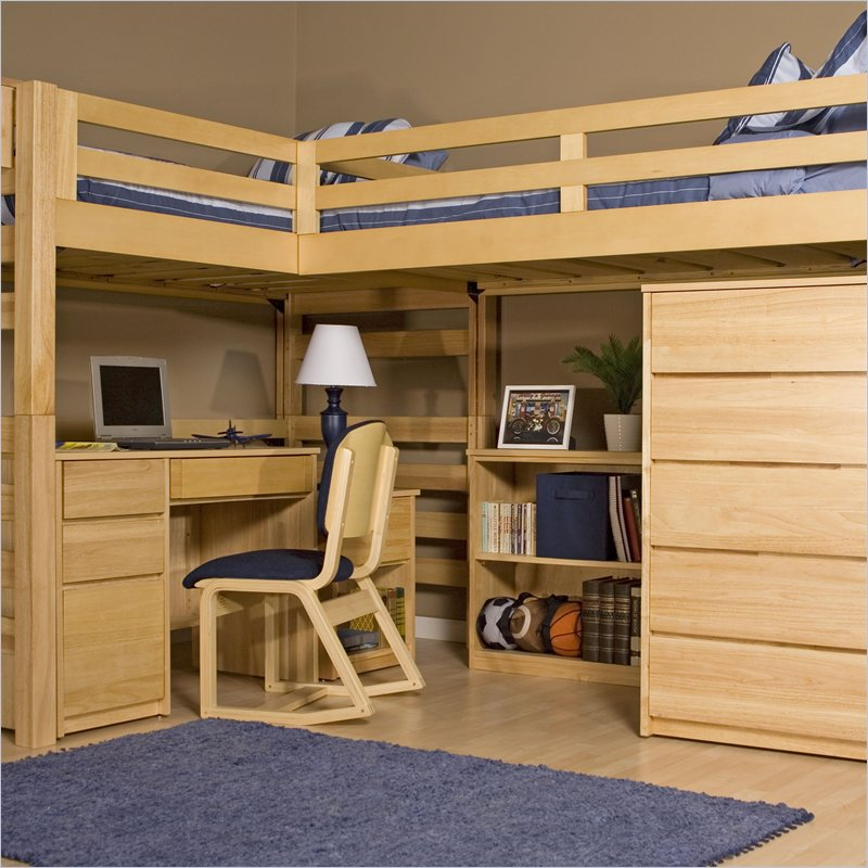 extra long twin over queen bunk bed plans | Better Woodworking Ideas