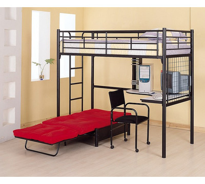 Kids Twin Beds Frames on Train Twin Loft Bed From The Kids Bed Superstore