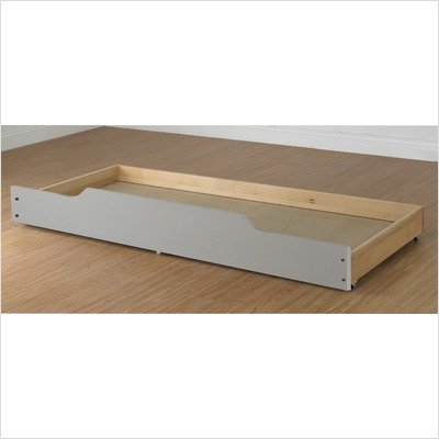 White Trundle  on Orbelle Trundle Storage Bed Drawer From Mercantila Com