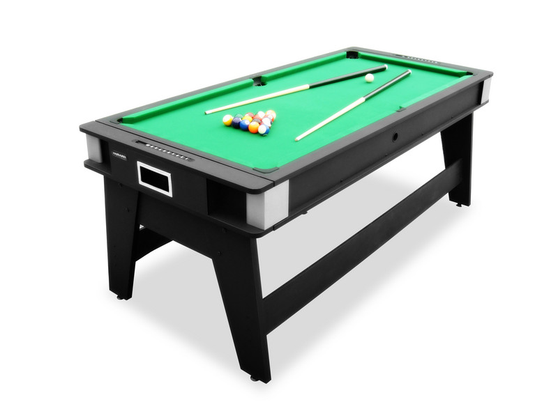 The Rotating Air Hockey To Billiards Table - Hammacher Schlemmer