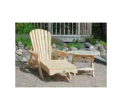 Adirondack Chair on Bear Chair Chaise Adirondack Lounger From The Patio Furniture Store