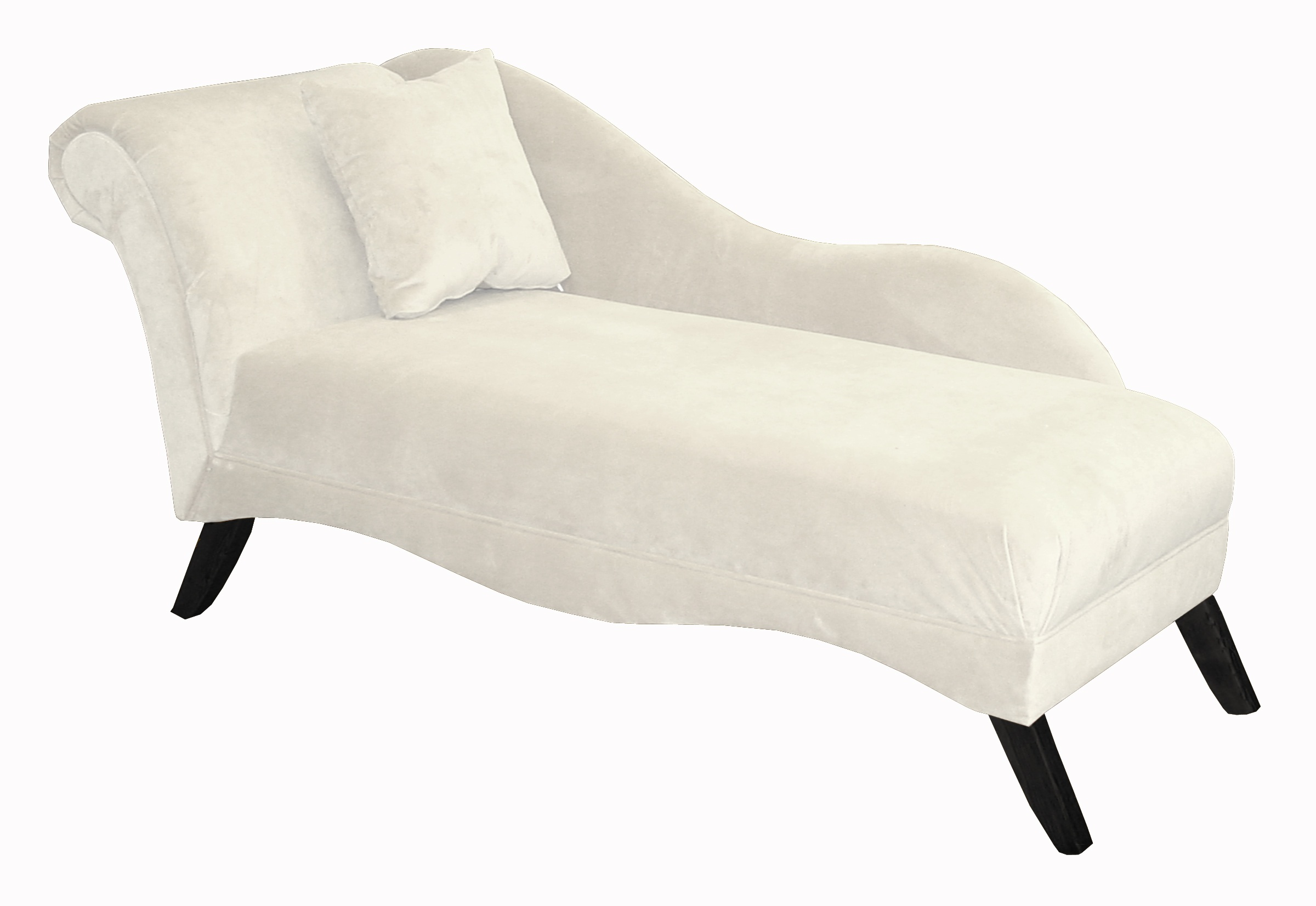 White Chaise Lounge Chair images