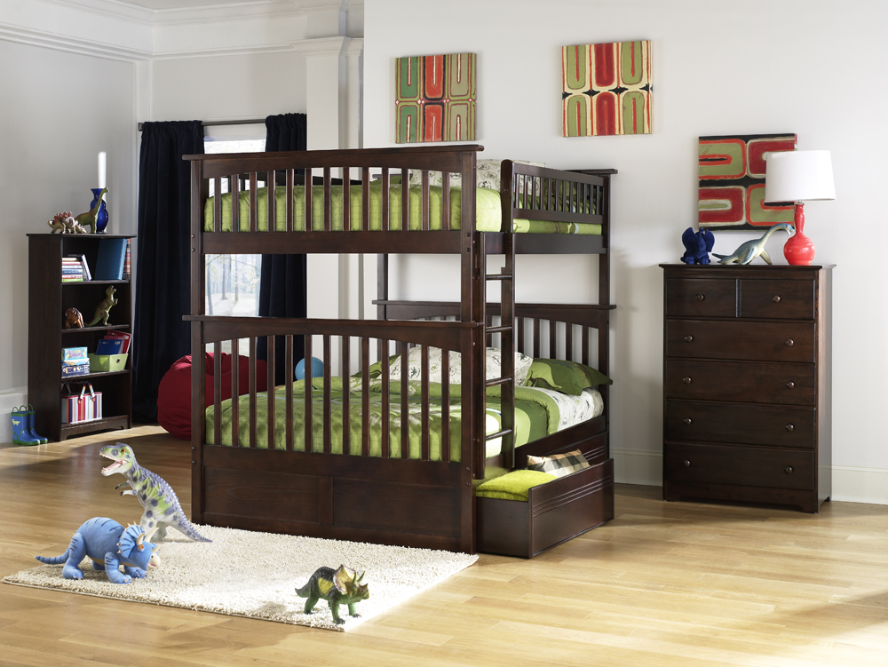 Atlantic Furniture Columbia Full Over Full Bunk Bed Bunk Bed 0 0 Duro Wesley Twin over Full Bunk Bed   Silver. Other Customers Also Viewed