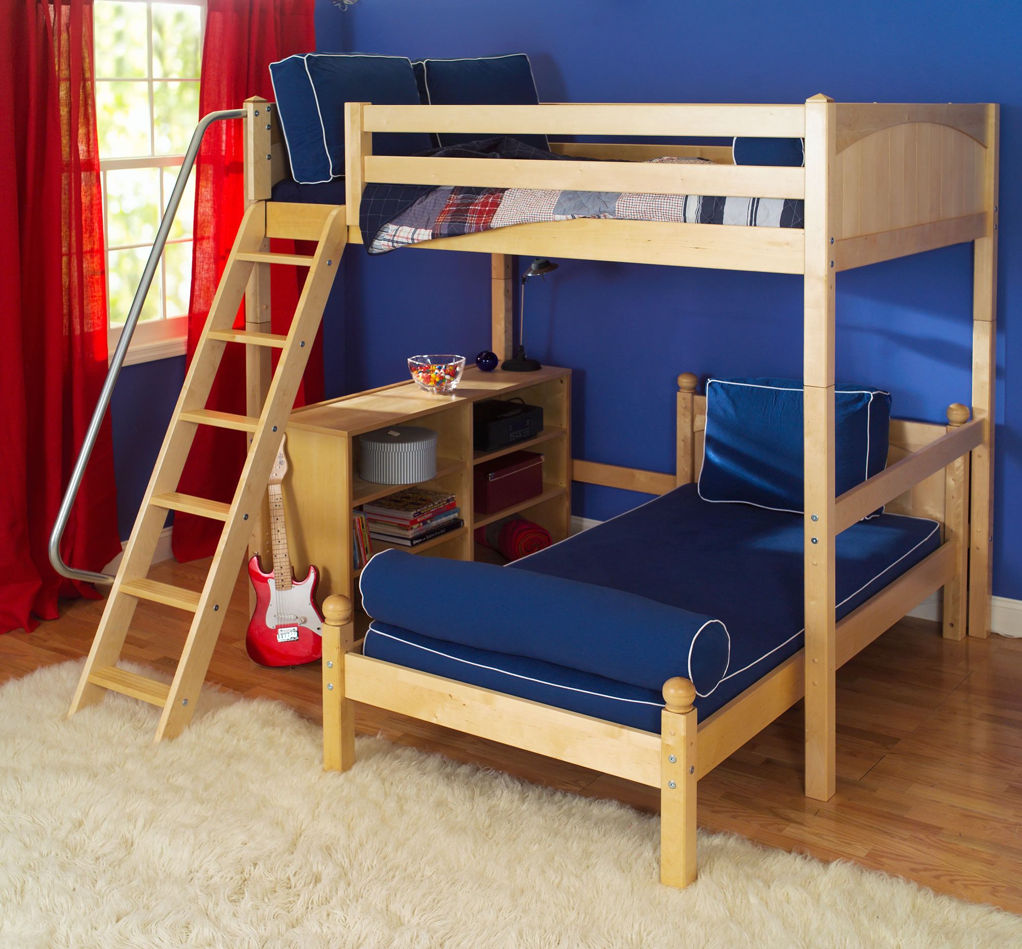 Maxtrix-Twin-over-Full-L-Shaped-Bunk-Bed-w.-Angle-Ladder-Bunk-Bed_0_0 ...