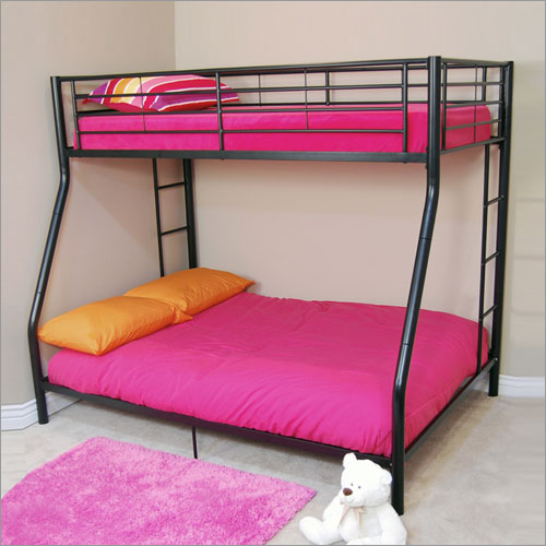 Twin Over Double Bunk Bed 500 x 500