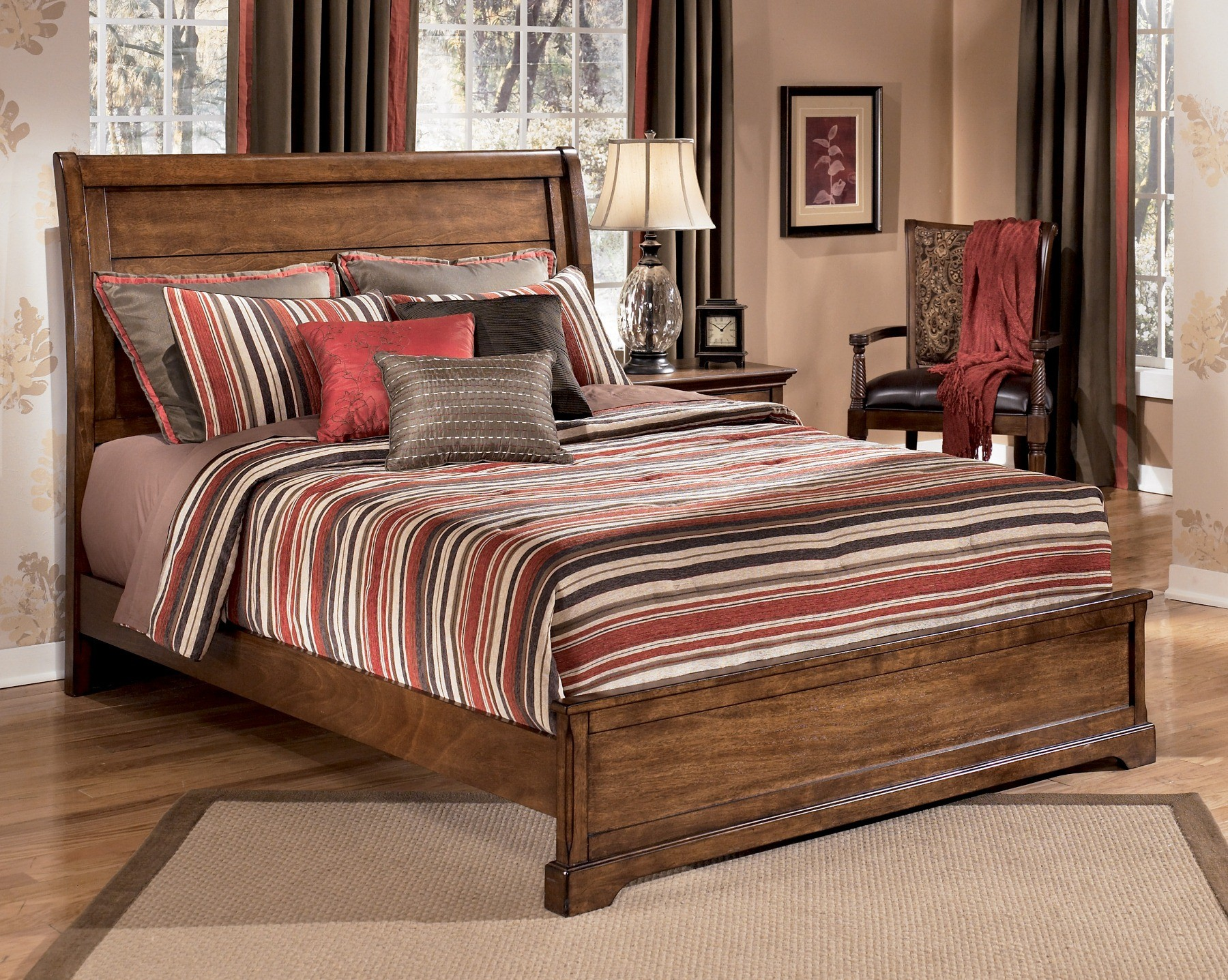 Laura Ashley Sleigh Bed Hot Girls Wallpaper