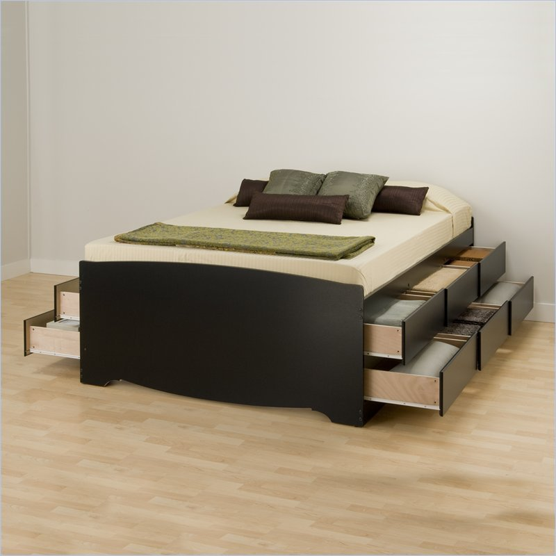 Platform Beds With Storage