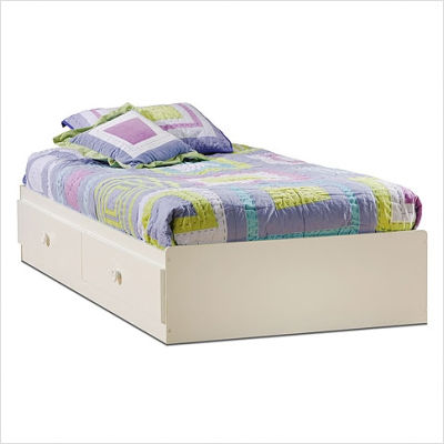 Twin  Sale Free Shipping on White Sand Castle Country Twin Mates Bed  39   From Mercantila Com