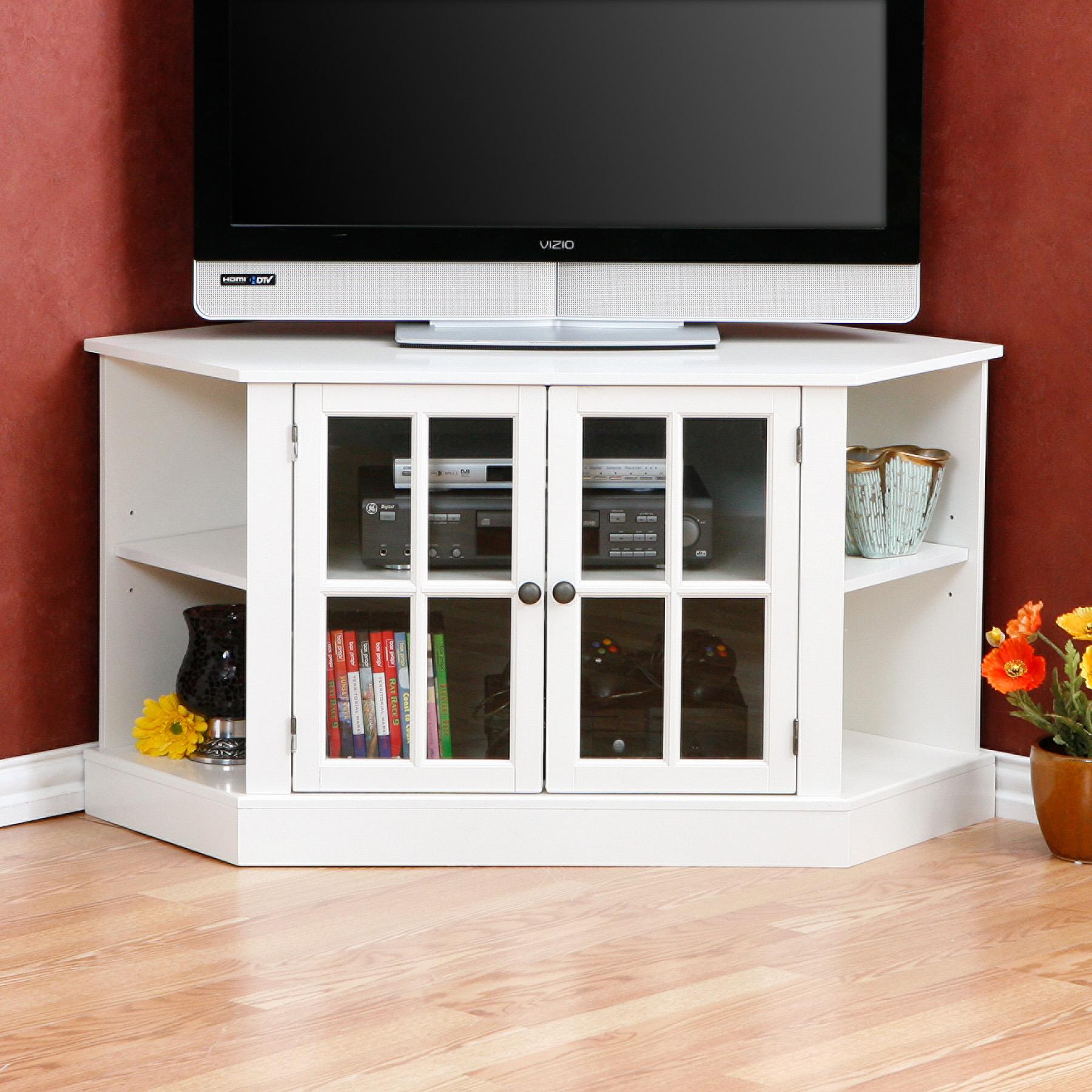 corner tv stands. Black Bedroom Furniture Sets. Home Design Ideas