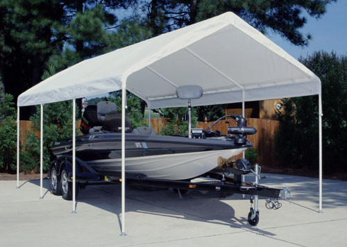 Caravan Display Shade 8' X 8' Canopy with Professional Top (500D)