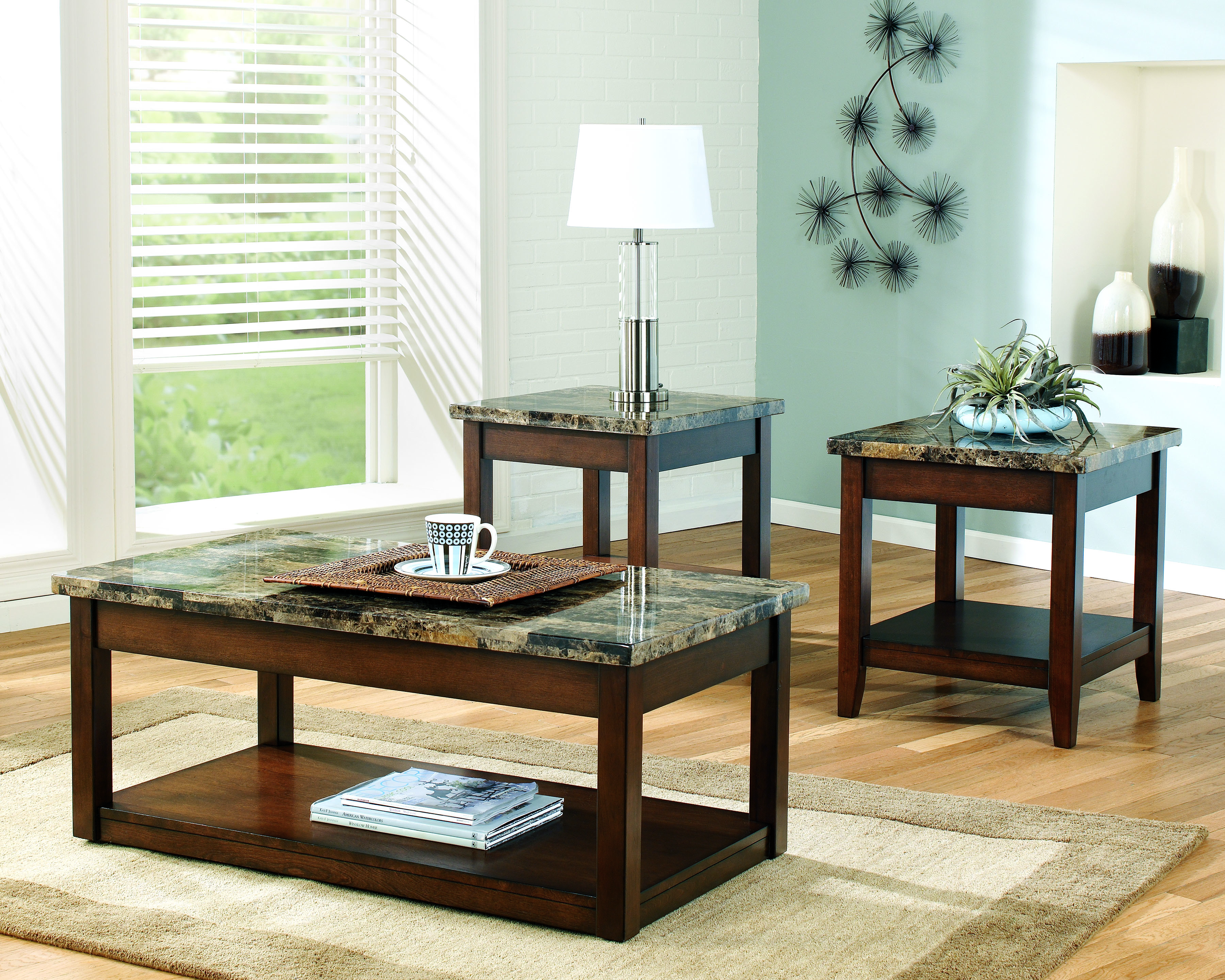 Ashley Furniture Coffee Table Set 3600 x 2880
