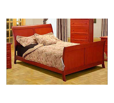 Metal Wood Furniture on Atlantic Furniture Bordeaux Wood Bed From The Wood And Metal