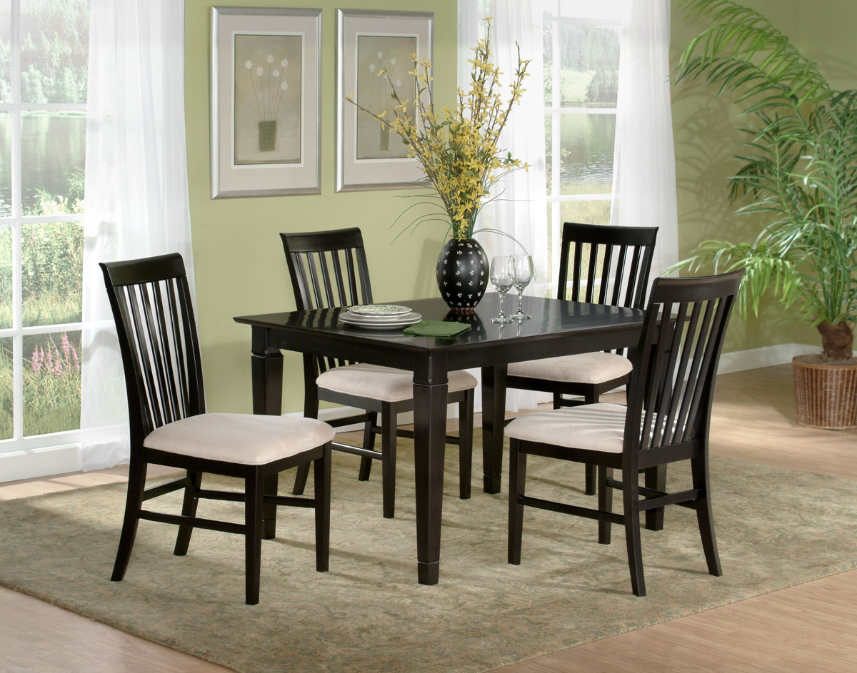 furniture deco dining table 36x60 set with 4 chairs dining set 0