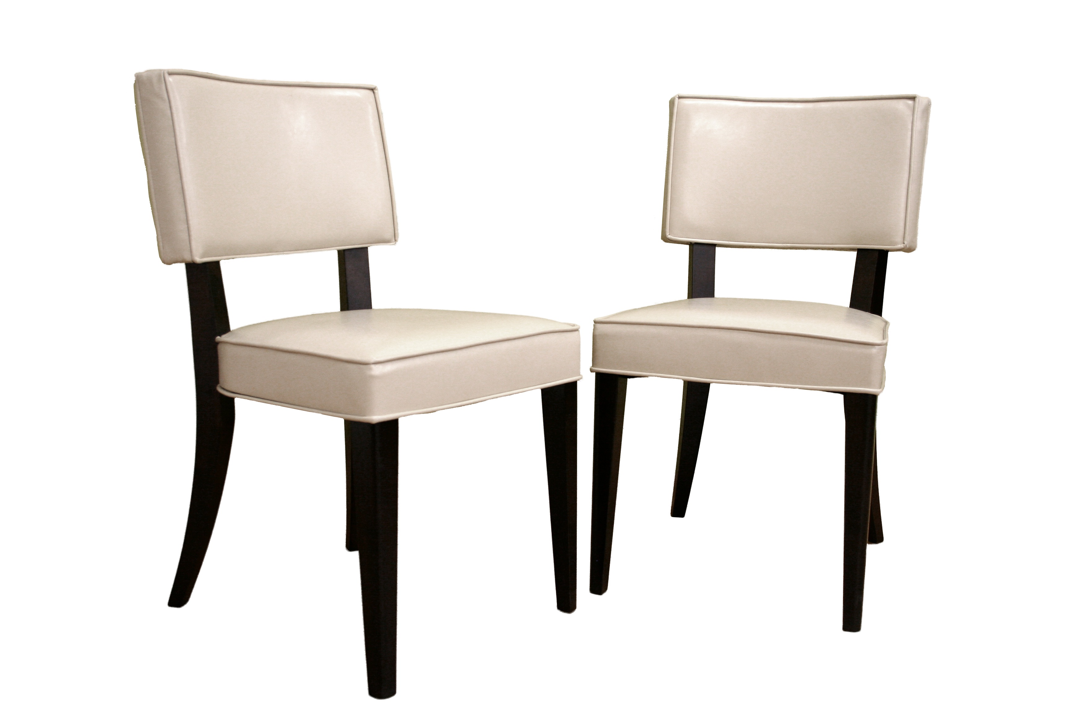leather dining chair set of 2 set of 2 ver chr dining chair 0