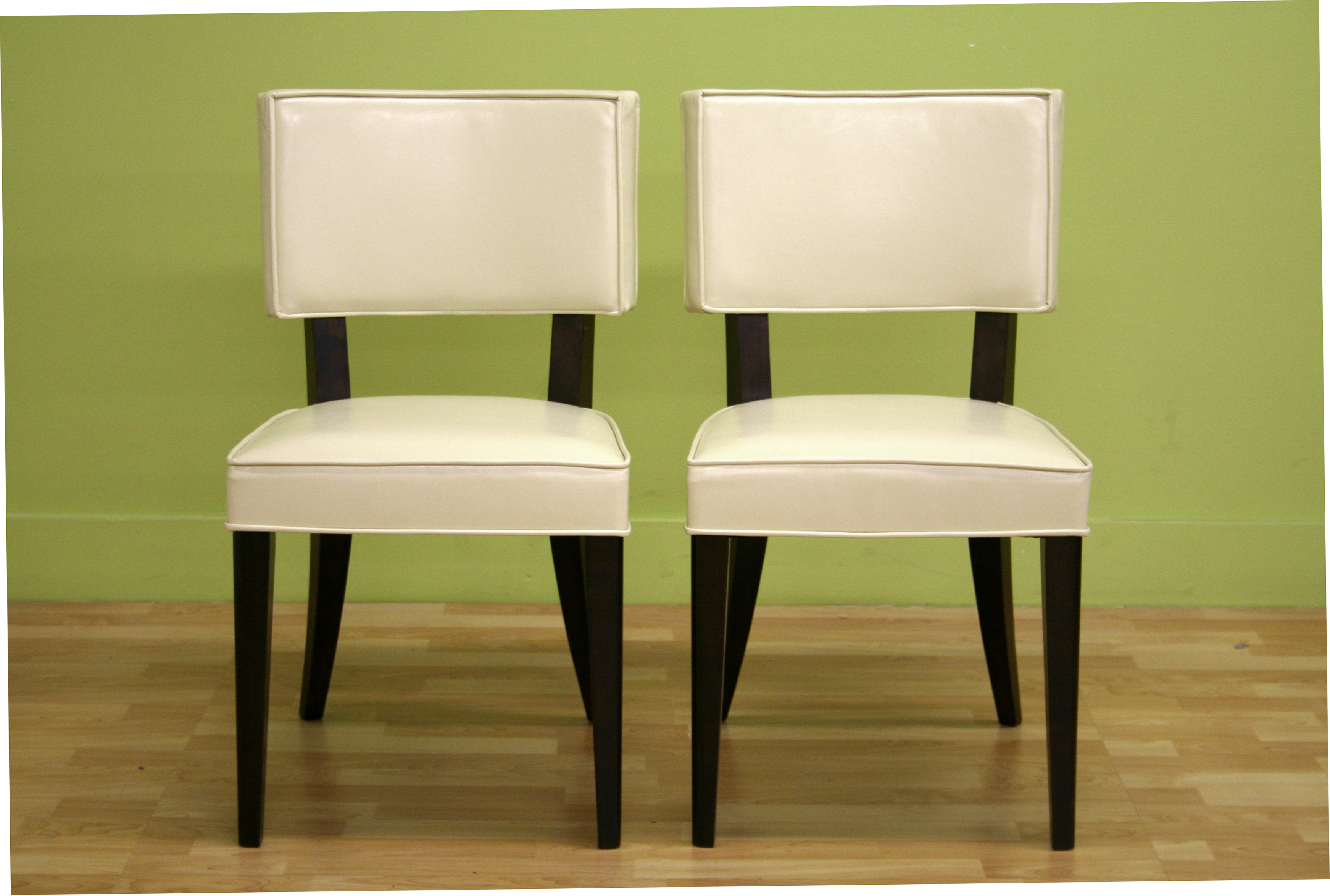 Bonded Leather Dining Chairs Chair Pads Amp Cushions