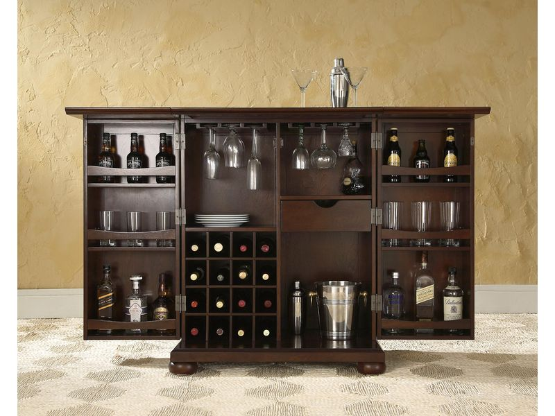 Image gallery storage bar Home wine bar furniture