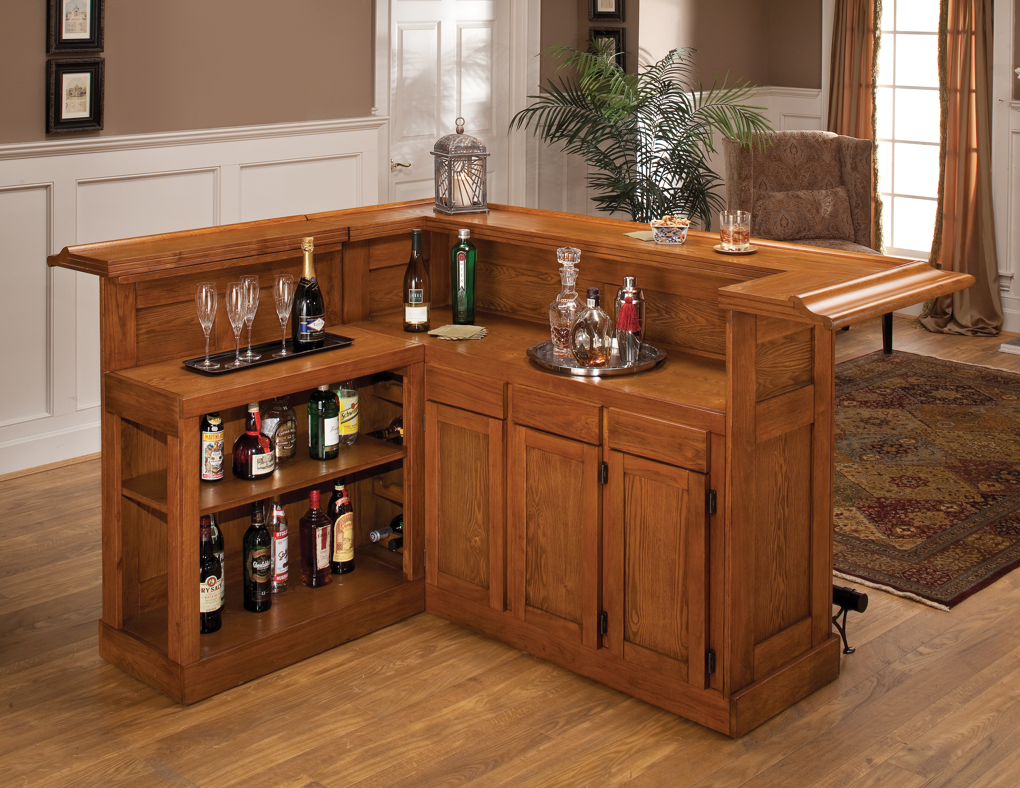 31 hassle free home bar ideas slodive Pictures of mini bars for homes