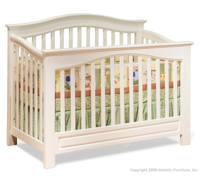 Atlantic Bedding Furniture on Atlantic Furniture Windsor Convertible Crib From The Crib Superstore