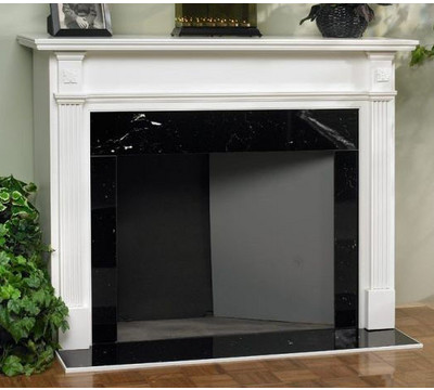 Classic Home Elements Ashley Wood Mantel Fireplace Surround - FREE Inside