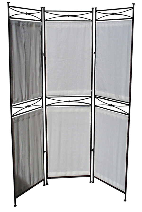 Outdoor room divider for Canvas privacy screen outdoor