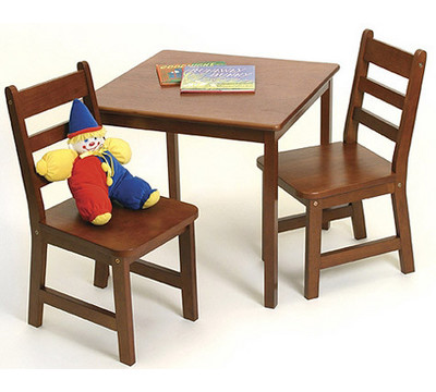 Baby Table  Chair on Lipper Square Kids Table And Chair Set From Mercantila Com