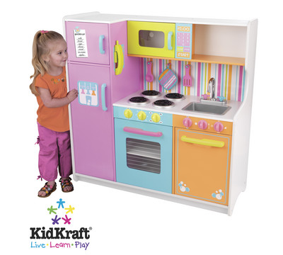 cyberlog new kidkraft pastel toaster play kitchen superstore. Black Bedroom Furniture Sets. Home Design Ideas