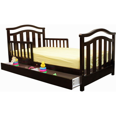 Toddler Bed With Drawers
