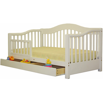 Wooden Toddler  Rails on Dream On Me Toddler Day Bed From The Kids Bed Superstore