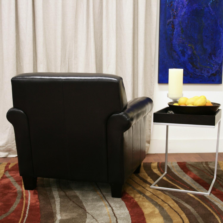 FAUX LEATHER CHAIR CUSHION Chair Pads Cushions