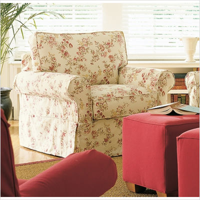 Rowe Furniture on Rowe Furniture Nantucket Slipcovered Chair From The Sofa Superstore