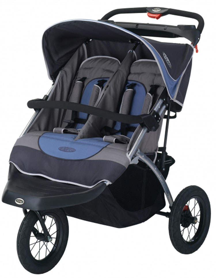 InStep Suburban Safari Double Jogging Stroller image. (based on 8 ratings)