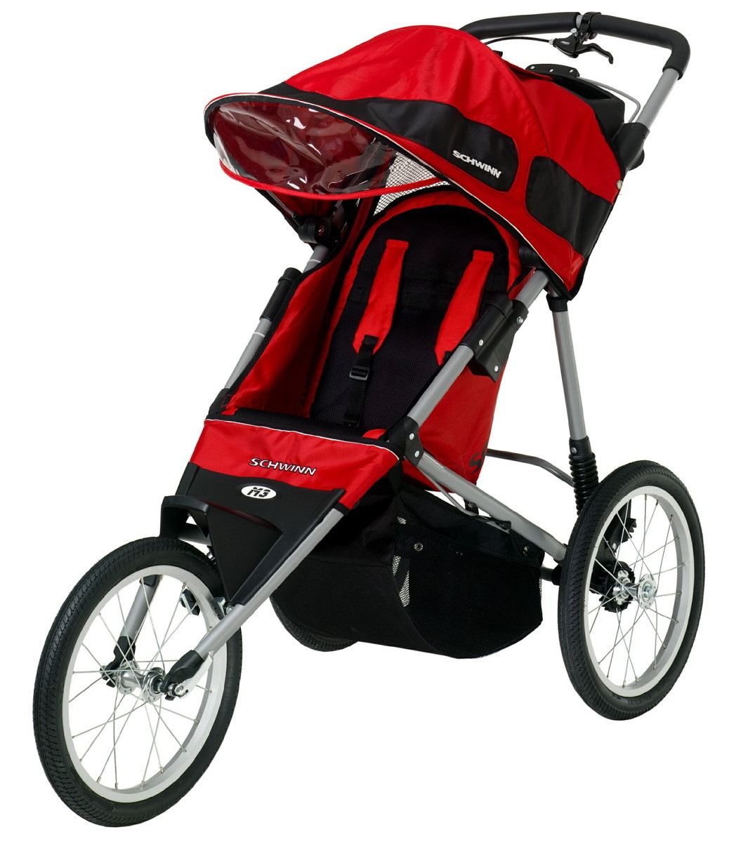 schwinn free runner single jogging stroller