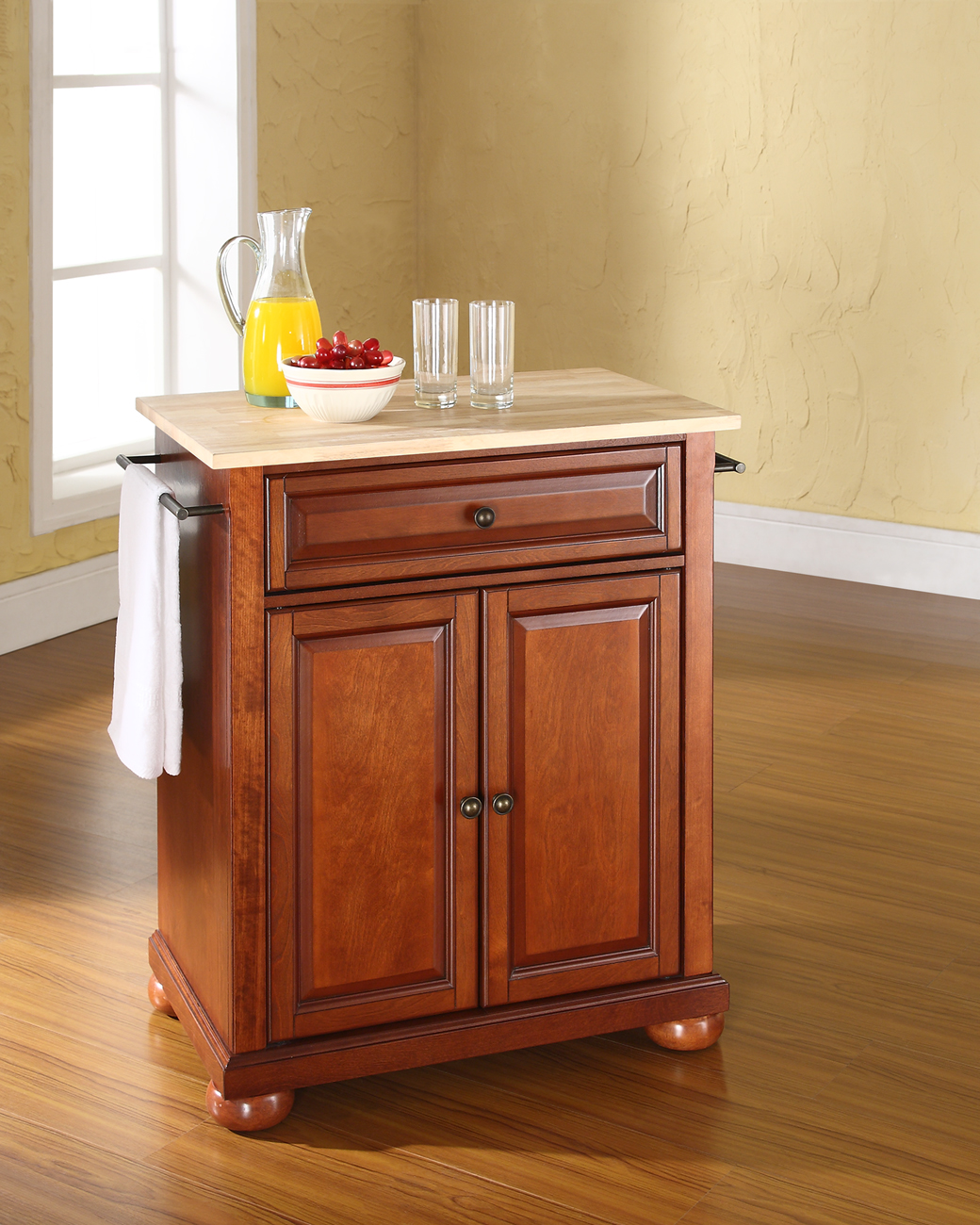 elegant oak kitchen cabi furniture home interior design picture