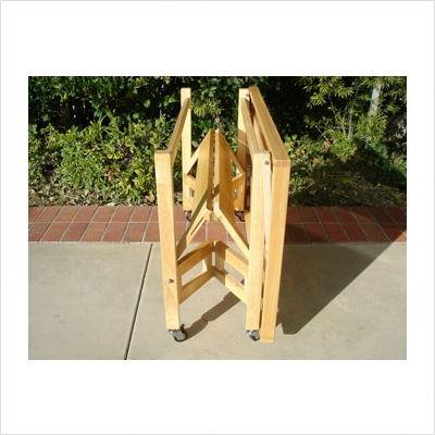 Cyberlog new oasis island wood folding serving for All wood kitchen island