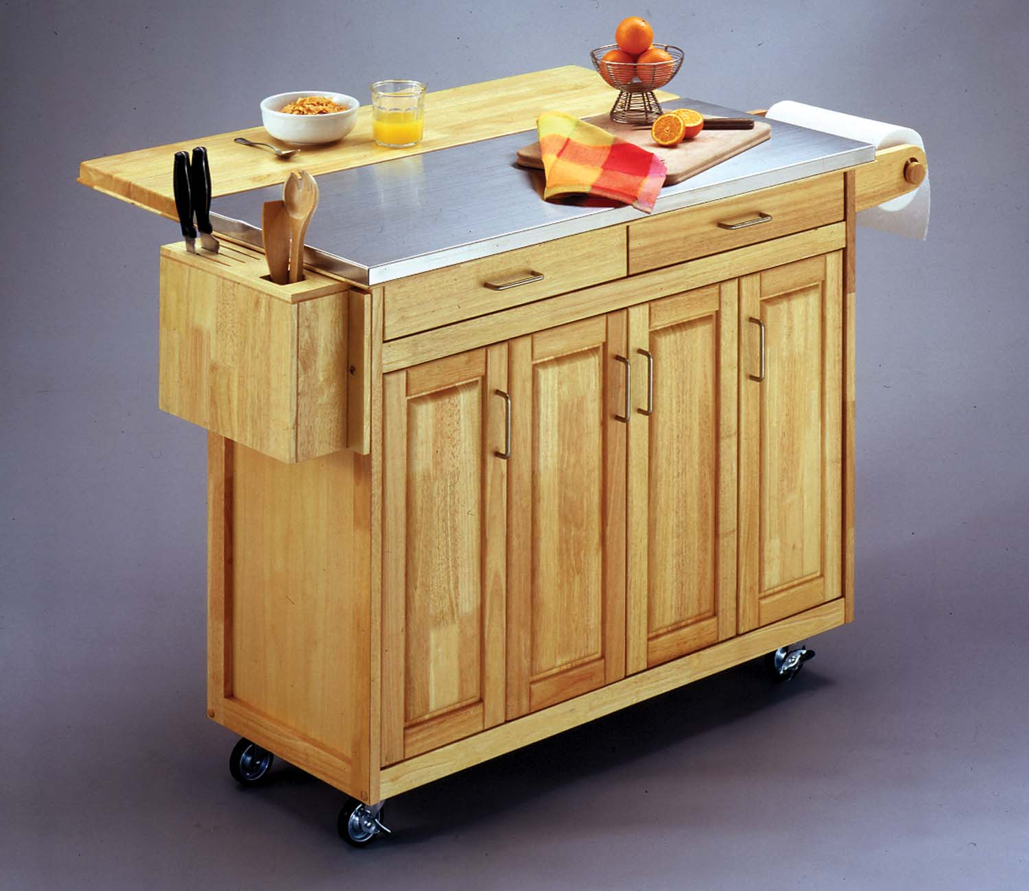 kitchen cart with breakfast bar kitchen design photos