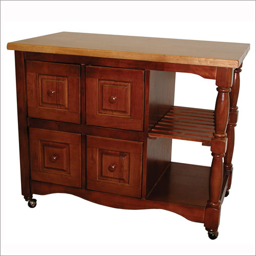 Kitchen island cart on trading 4 drawer kitchen cart from the kitchen