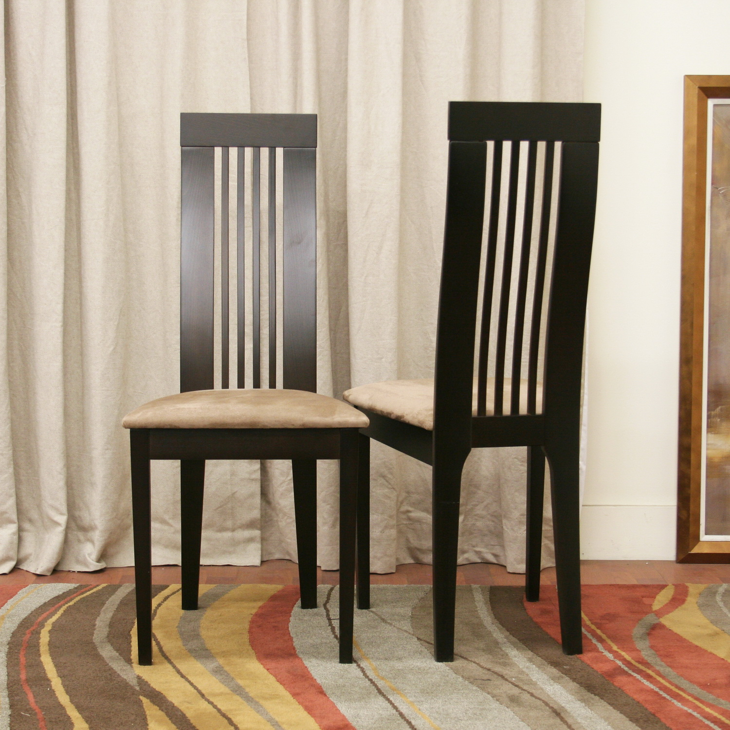 Seat Covers Dining Room Chairs: DINING CHAIR COVERS SET OF FOUR