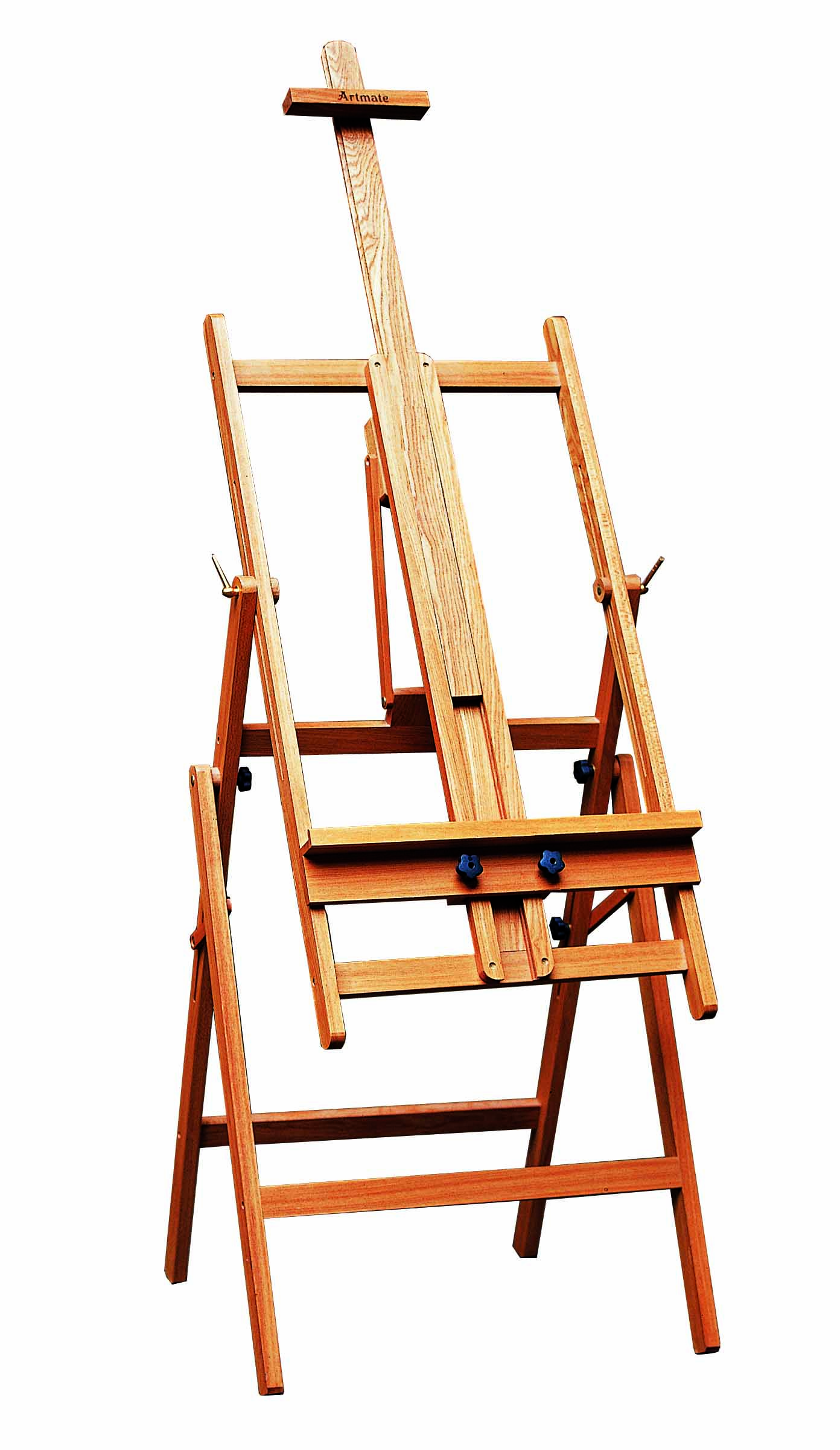 Artist Painting On Easel - SPE