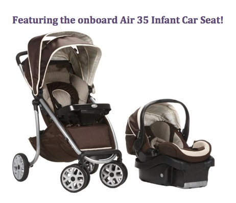 Safety First Double Stroller Travel System