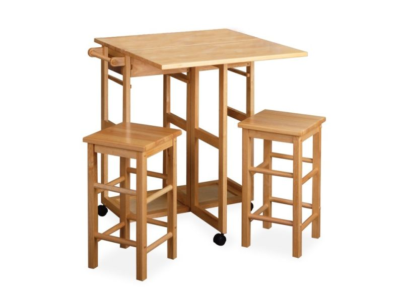 Kitchen Tables With Stools 2017 Grasscloth Wallpaper